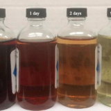 NCCC carbon bed test results seen in solvent samples